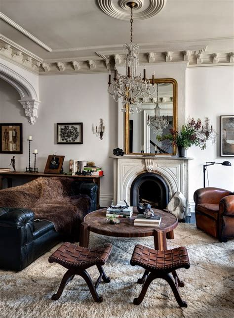Eclectic Vintage Living Room by Vintage Eclectic Living Room Decor