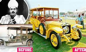 Mir Osman Ali Khan Rolls Royce The Second Coming A 100 Year Nizam S Rolls Royce Goes