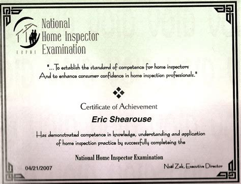 national home inspectors home review