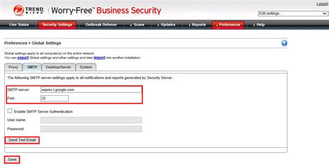 smtp gmail 25 set a gmail smtp notification and report server worry