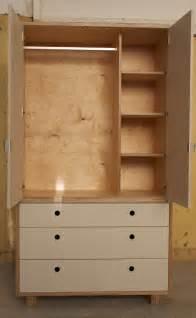 Wardrobe Plywood by Make Furniture Freestanding Wardrobe Made In Birch Plywood