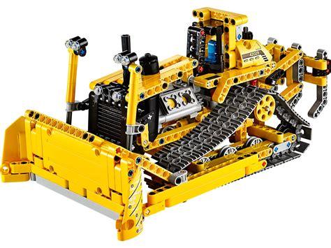 Lego Technic 42028 Bulldozer technicbricks tbs techreview 34 42028 bulldozer