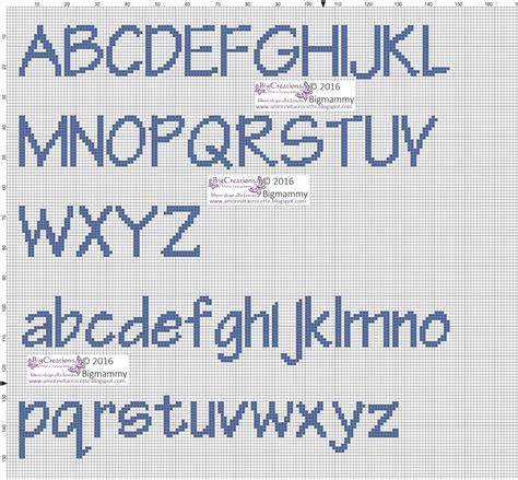 punto croce lettere per bambini alfabeto alfabeto punto croce alfabeto