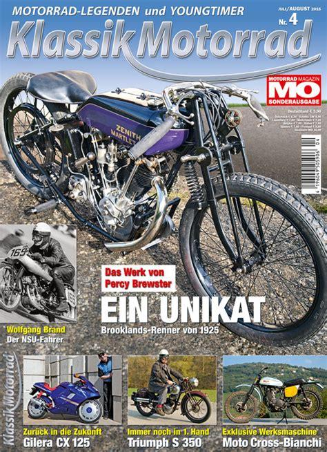 Motorrad News 4 2015 klassik motorrad 4 2015 motorrad magazin mo