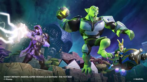 disney infinity villians trio of villains join disney infinity 2 0 marvel
