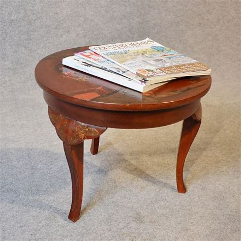 Small Antique Coffee Table Antique Small Coffee Table Occasional Side L Vintage C1920 199743