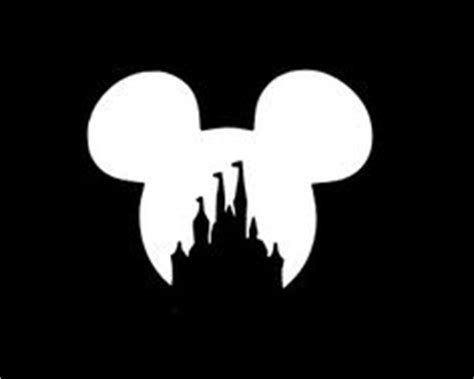 disney castle with mickey mouse vinyl by