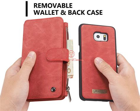 Caseme Samsung Galaxy S6 Edge Plus Wallet Card Lea Limited Caseme Samsung Galaxy S6 Edge Plus Zipper Wallet