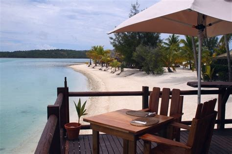 flying boat restaurant aitutaki trans pacific holidays in the south pacific the cook