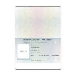 blank passport template open international passport template objects creative
