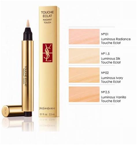 ysl touche eclat radiant touch concealer highlighter