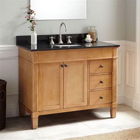 42 quot marilla oak vanity bathroom