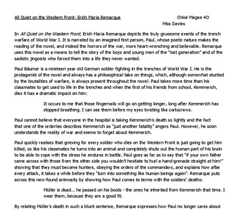 World War Essay by World War One Essay Pdf Choiceprogs