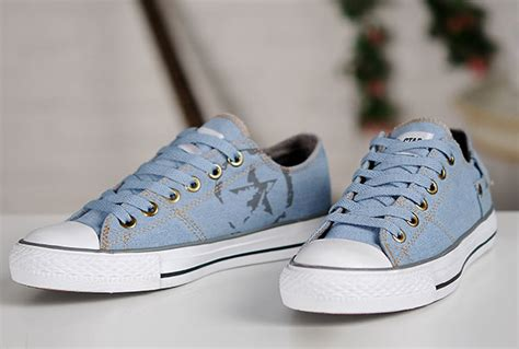 Sepatu Converse All Clasic Size 37 43 2015 converse vintage light blue chuck all low tops sneakers d53301 get