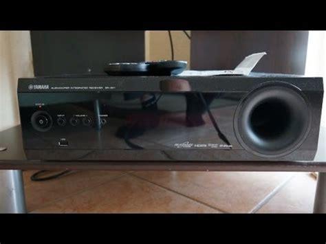 yamaha yht s401 surround sound system unboxing youtube