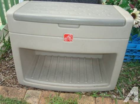 step 2 storage bench step 2 storage bench step2 boot bench seat deluxe for sale