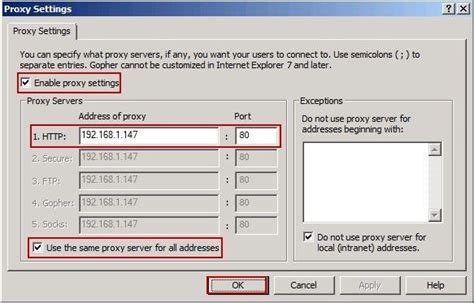 proxy server  active directory  domain users