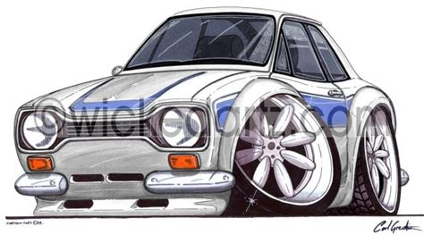 Ford Escort MK1 RS2000 Silver