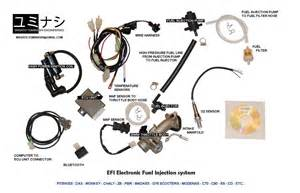 Fuel System Motorcycle Yuminashi Efi Electronic Fuel Injection System For
