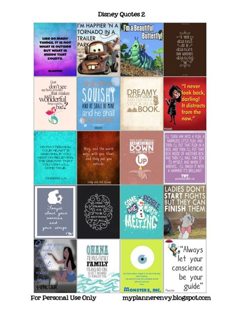 free printable disney planner stickers 17 best images about disney magnets printables on