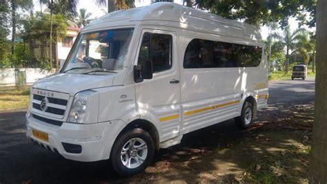 seater ac push  mini bus  rent  kerala vehicles  rent  cochin