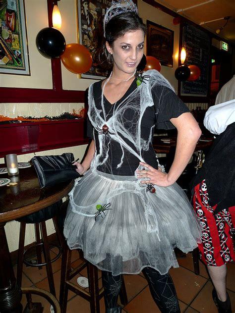 homemade exorcist costume halloween web spider web costume halloween ideas pinterest girls