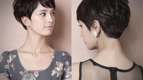 model rambut wanita pendek  sesuai bentuk wajah