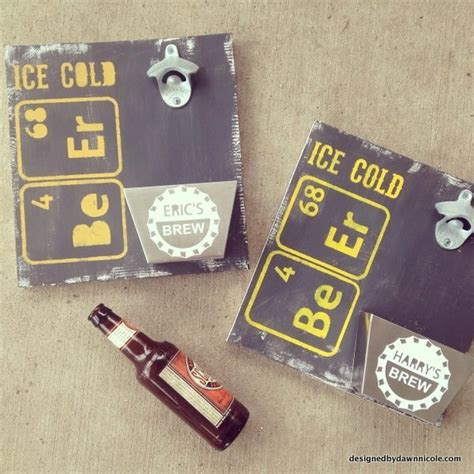 Diy Beer Bottle Opener Wood Signs