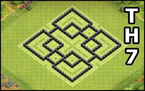 layout design coc th 7 clash of clans best defense layout car interior design