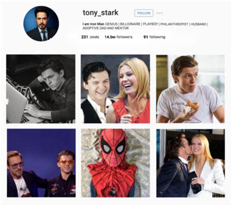 tony stark instagram tumblr