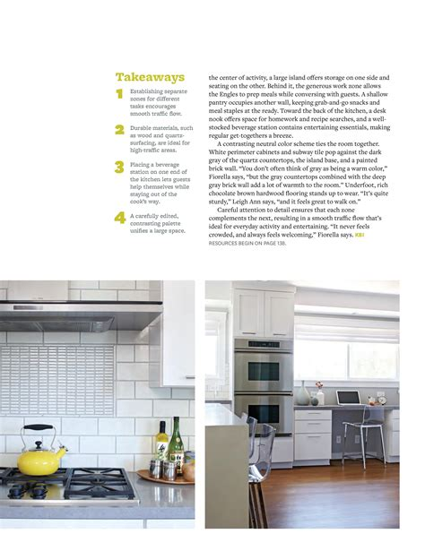 kitchen and bath ideas magazine kitchen bath ideas summer 2014 fiorella design