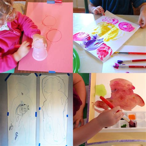 painting craft ideas for 12 projects for toddlers tinkerlab