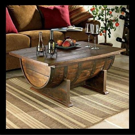Caves Rustic Hardware And Wine Barrels On Pinterest Cave Coffee Table
