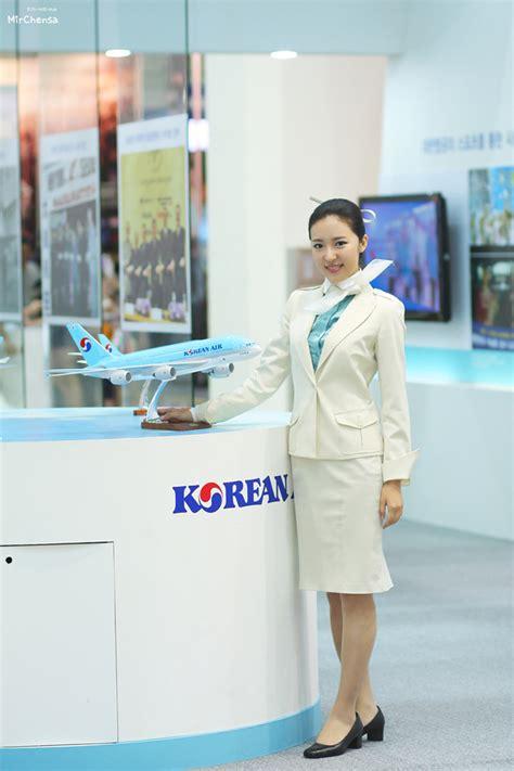 Korean Air Cabin Crew by Korea Air Stewardess Crew Aviation News