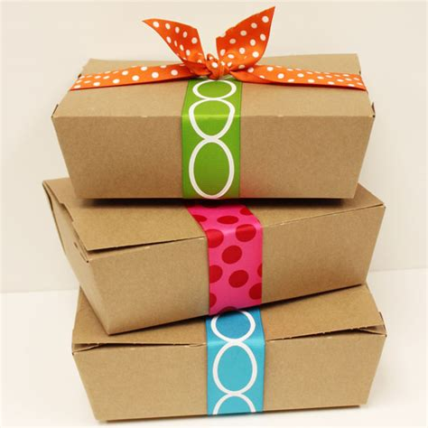 Lunch Box Paper brown kraft boxes box lunch supplies box kraft