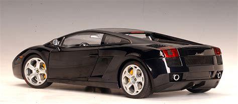 Autoart Lamborghini Gallardo Autoart Lamborghini Gallardo Metallic Black Clear