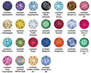 gem colors learning center color gem kolo piercing