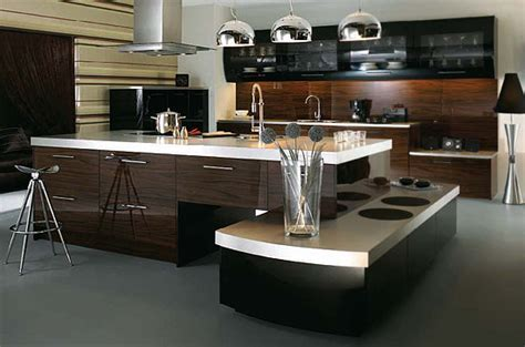 Modern Island Kitchen Modern Range Brookwood Kitchens