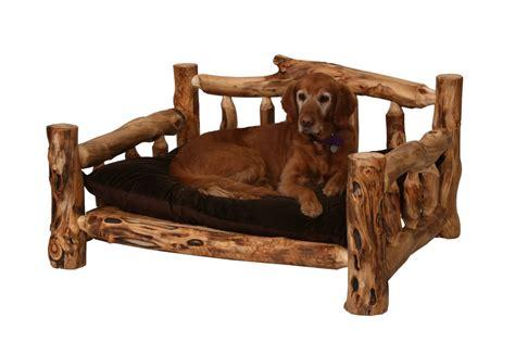 rustic dog bed rustic dog bed wood dog bed log dog bed pet furniture