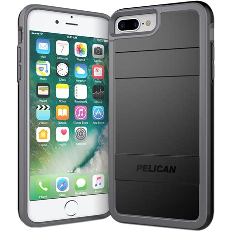 h iphone 7 plus pelican protector for iphone 7 plus c24000 000a bklg b h