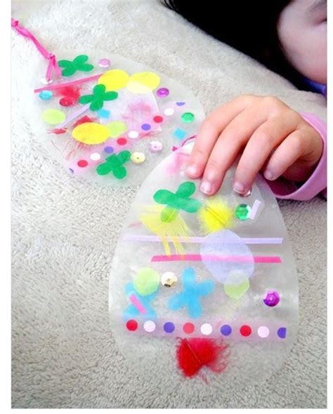 craft wax paper easter craft easter crafts for preschool