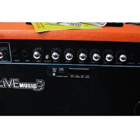 Live Tg 80w Electric Guitar Lifier Reverberation 2 Port 80w live tg 40r electric guitar lifier reverberation 3 port 40w with player remote
