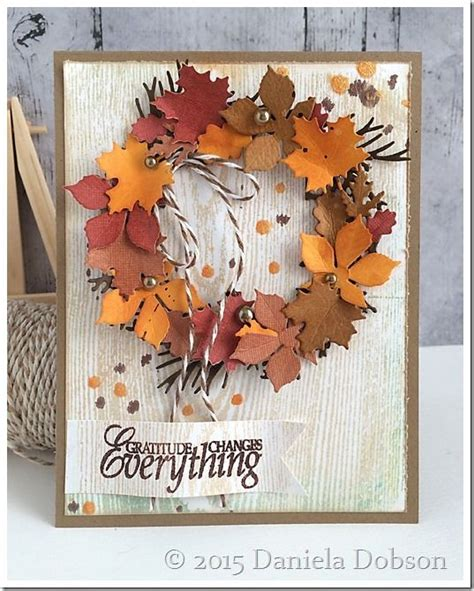 1000 ideas about handmade fall cards on pinterest