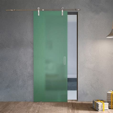 porta vetro satinato porta scorrevole in vetro satinato alaska steel