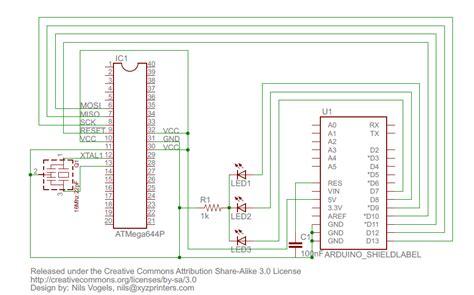 arduino tutorial bootloader gt circuits gt tutorial sanguino bootloader to atmega 644p