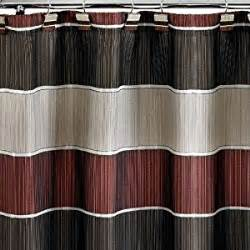 modern line quot burgundy quot 6x6 shower curtain