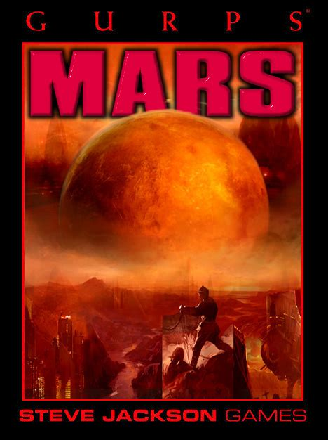 the of mars books gurps mars bibliography
