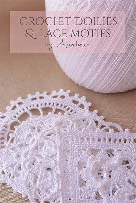 Anabelia Craft Design Crochet Doilies And Lace Motifs crochet doilies and lace motifs anabelia craft design