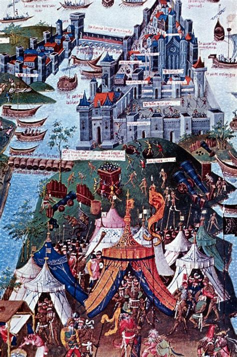 the siege of constantinople 1320 section 15 the crusades and christianity