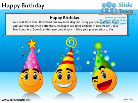 Happy Birthday Powerpoint Ppt Slides Powerpoint Happy Birthday